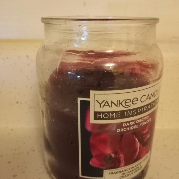 Yankee Candle Dark Orchid - Used
